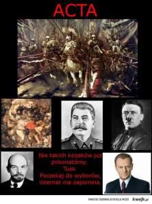 Fakt historycznyL husaria pokonała, jak widać: von Jungingena, Lenina, Stalina, Hitlera, i Tuska.